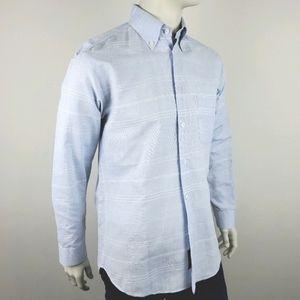 Zegna Sport Casual Button Down Shirt Size Medium
